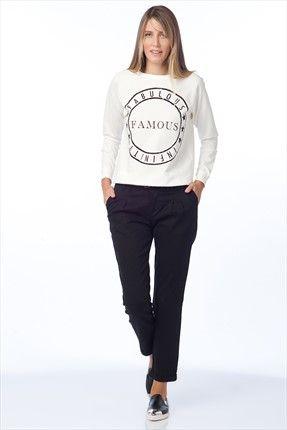Siyah Pantolon O&O-6K017015 Olgun Orkun | Trendyol
