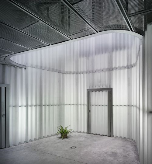 Interior of University Pablo de Olavide BURÓ4 Arquitectura 2011
