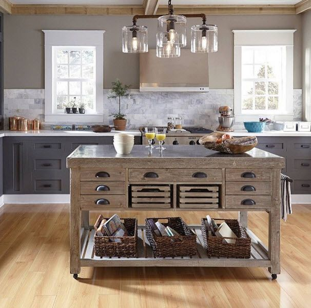 12 Best Island Images On Pinterest: 10 Best Rustic Kitchen Island Images On Pinterest