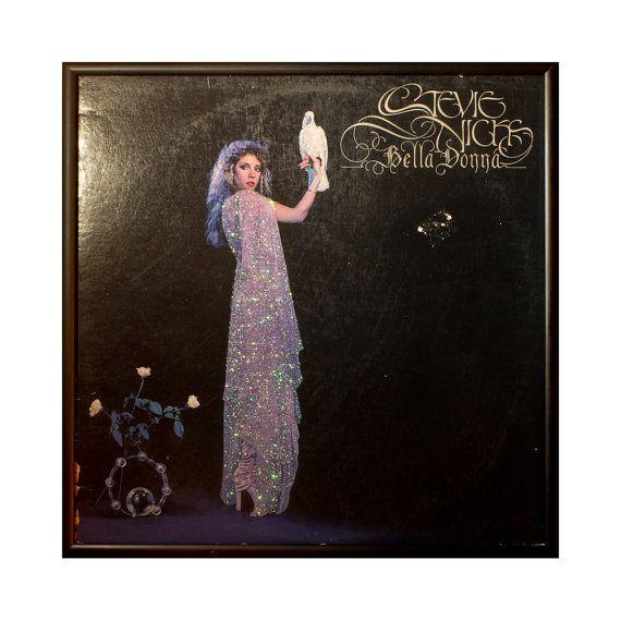 Glittered Stevie Nicks Bella Donna ALbum