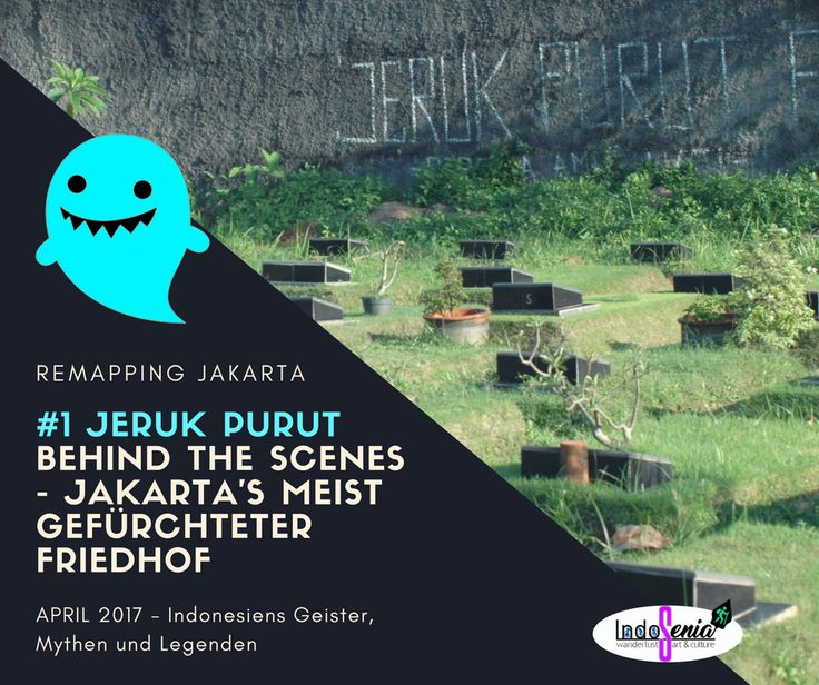 """Interessierst du Dich für indonesische Geister? Dann bist du hier genau richtig! Am berühmt-berüchtigten Friedhof """"Jeruk Purut"""" in Jakarta tummeln sich alle möglichen Gespenster, mitunter der mittlerweile prominente kopflose Pfarrer, der von seinem schwarzen Hund begleitet wird. #indonesien #jakarta #jerukpurut #geistergeschichten #pocong #kuntilanak #headlesspriest"""