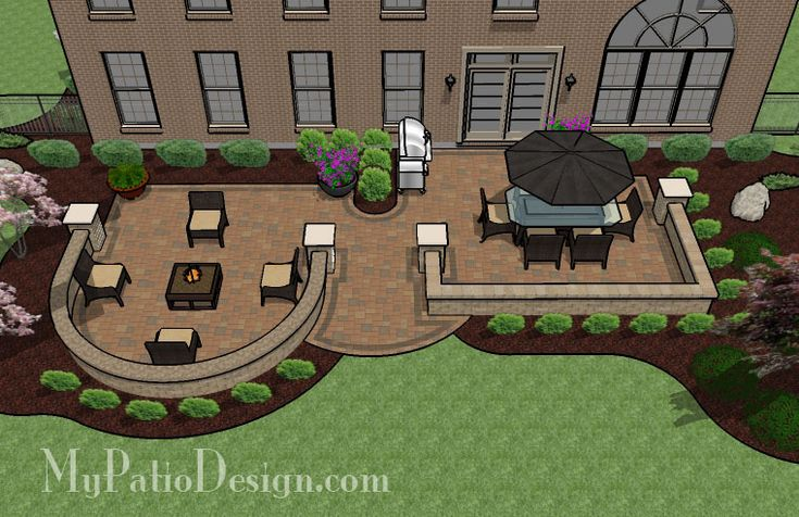 Beautiful Backyard Patio - Patio Designs & Ideas