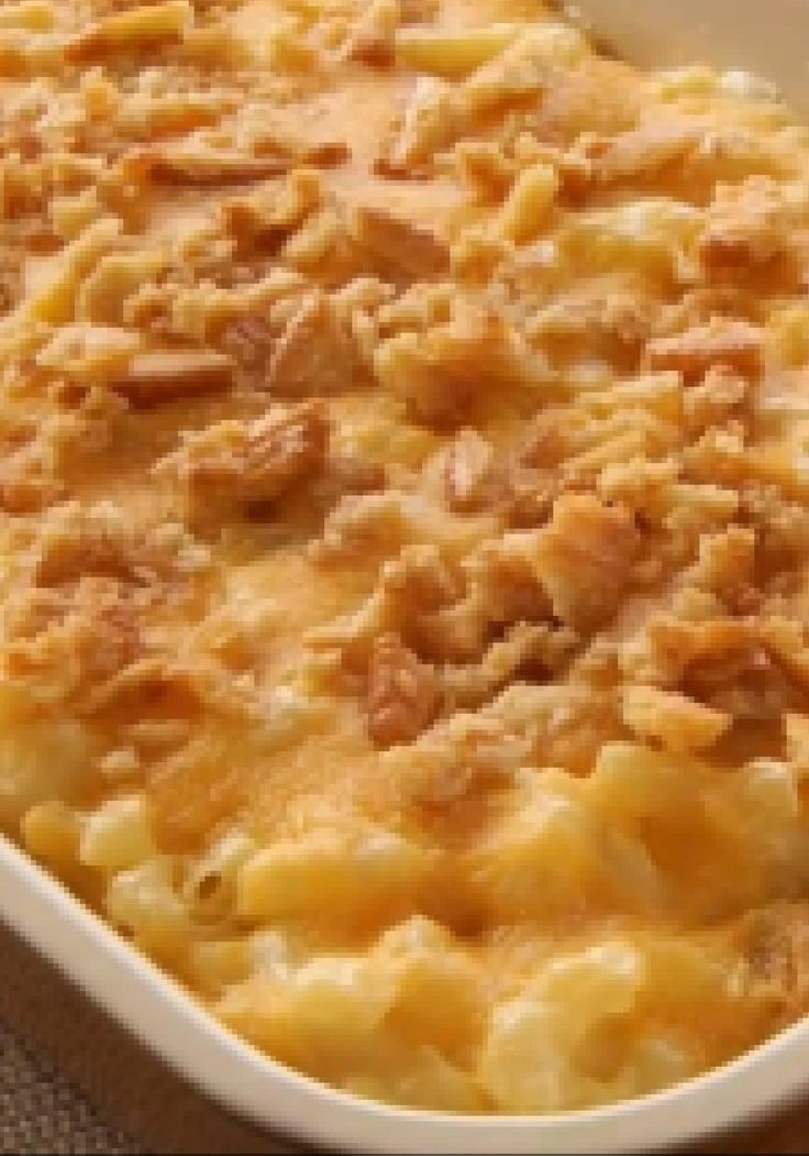 VELVEETA Down-Home Macaroni & Cheese -- If you're looking for a mac and cheese recipe with the perfect balance of cheesy and creamy, the search ends here.
