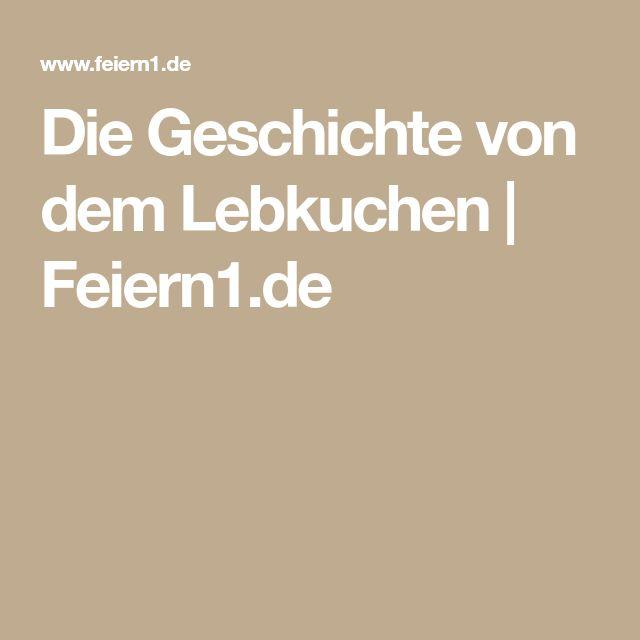 Die Geschichte von dem Lebkuchen | Feiern1.de