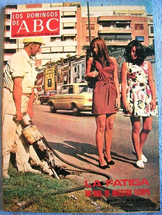 LOS DOMINGOS DE ABC, JULIO DE 1971. SEVILLA, JULIAN MARIAS, BALLET GALLEGO, FEDERICO SILVA,....