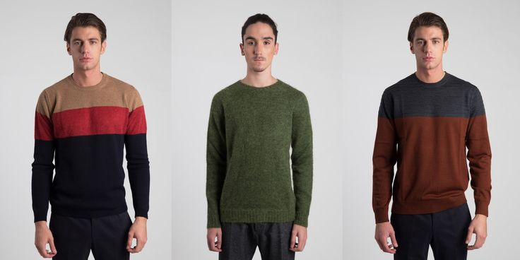 It's freezing out there, choose a warmer in the shades of the season from our #eshop #hionidismankind #mensfashion #menstyle #knitwear #sweater