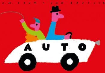 "Książka obrazkowa ""Auto"""