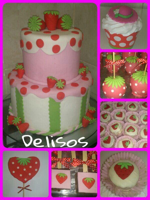 Mesa dulce g torta de Frutillita