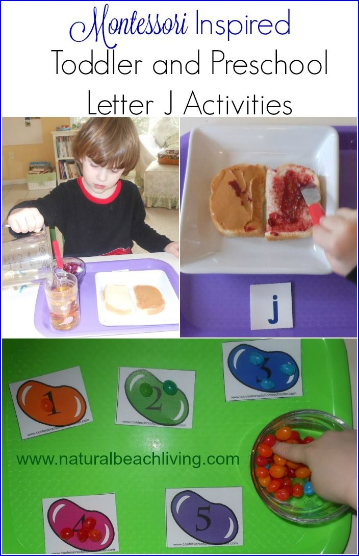 Fun Montessori Inspired Toddler and Preschool Letter J Activities, Practical Life skills, sensory play, fine motor skills, and hands on learning at its BEST