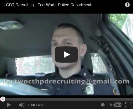 Watch it: Gay Fort Worth, Texas, police officer Chris Gorrie releases recruiting video for department