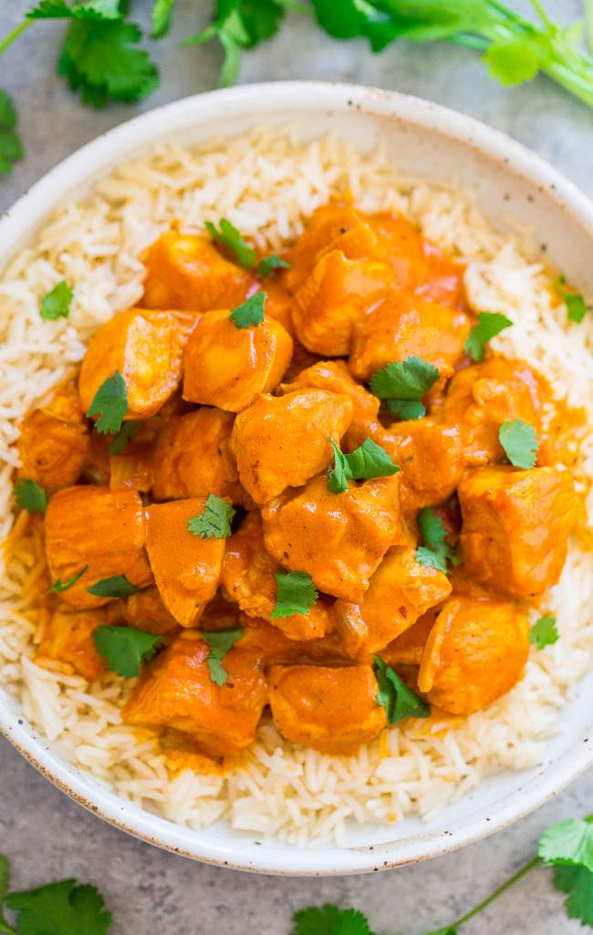 Indian Butter Chicken Recipe Indian Food Recipes Butter