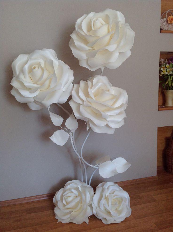 M s de 20 ideas incre bles sobre flores gigantes en - Plantillas de decoracion ...