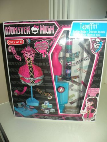 Monster High Tapeffiti Fashion Design Monster High Tapeffiti Fashion