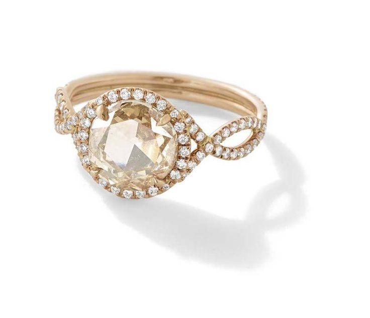 """La colección de joyas #Mineraux, llamada """"anillos de compromiso éticos"""" de…"""