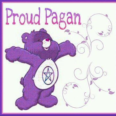 proud to be not only Pagan but Wiccan