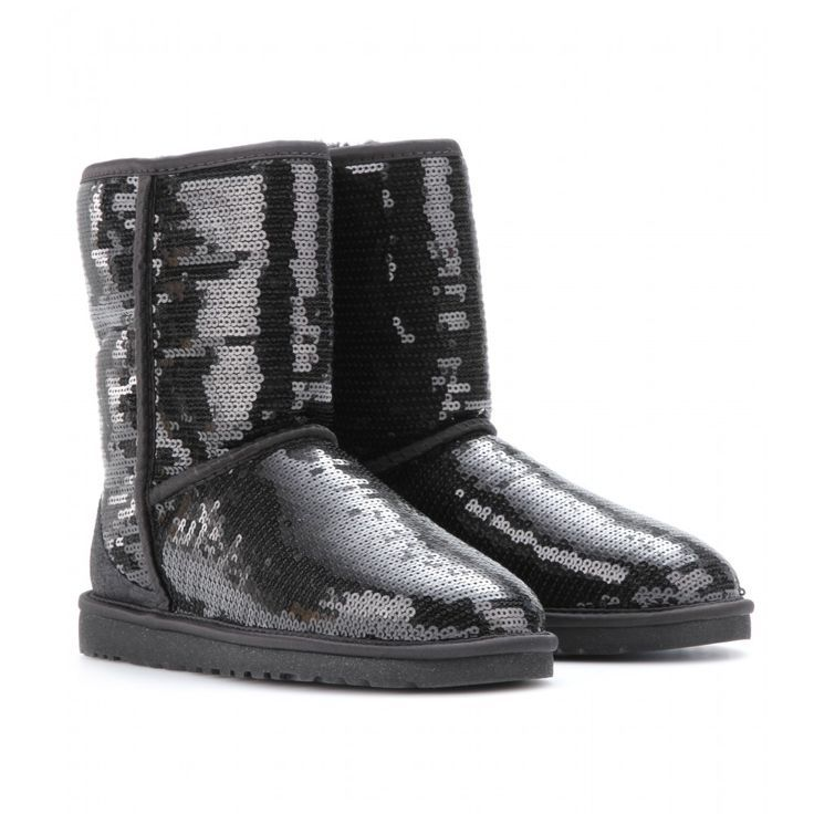 Ugg Australia - Classic Short Sparkles sequinned boots