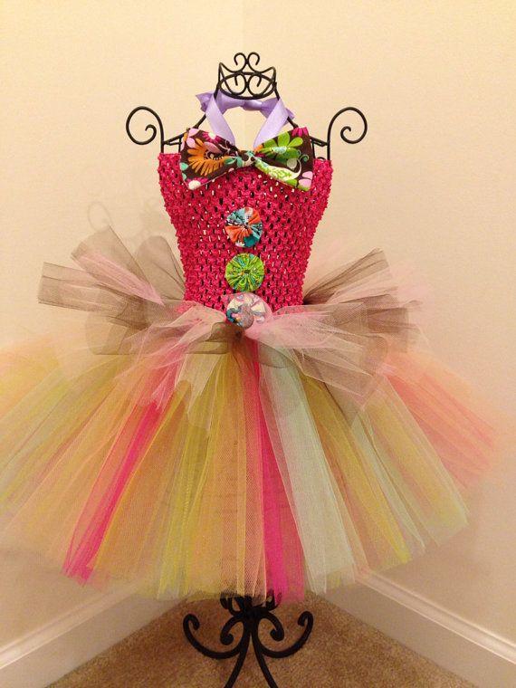 Mad Hatter Tutu. Clown Tutu Dress. by LovelyLittleThings1 ...