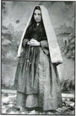 1860s St Bernadette Photo.