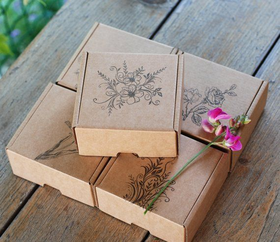 Articulos Similares A Papel Regalo Cajas Surtidas Flor Tematica Carton Embalaje 4 X 4 Pulgadas 10 X 10 Cm Set De Paper Gift Box Gifts Birthday Card Drawing