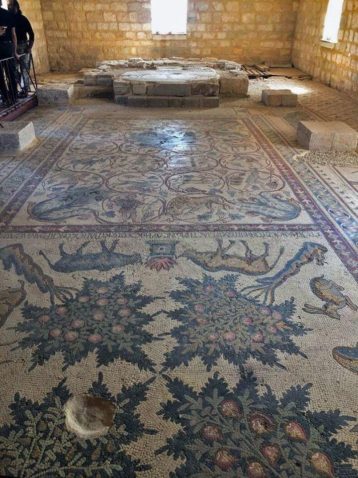 Chiesa dei Santi Lot e Procopio, Madaba, Giordania,VI sec.   Decor, Mosaic, Home decor