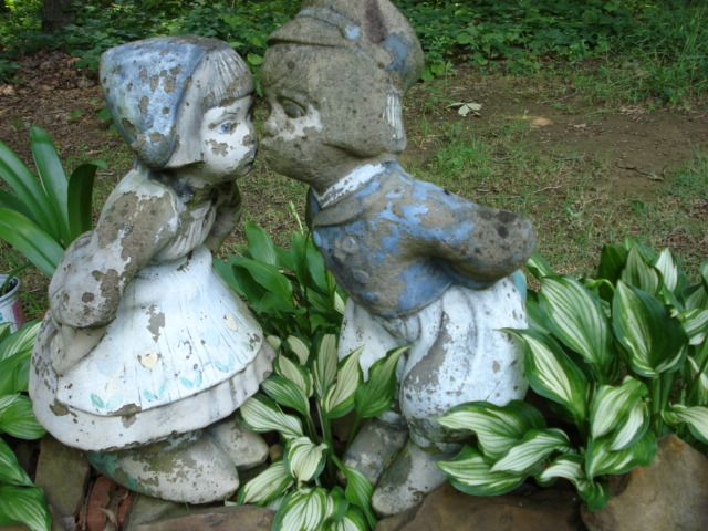 Dutch Boy Girl · Garden StatuesLawn OrnamentsDutchGarden Ideas