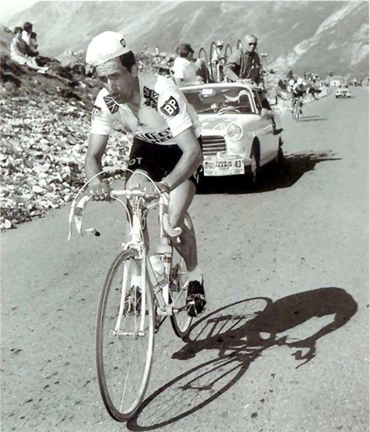 """Put me back on my bike."" -Tom Simpson, 13 July 1967, Mt. Ventoux."