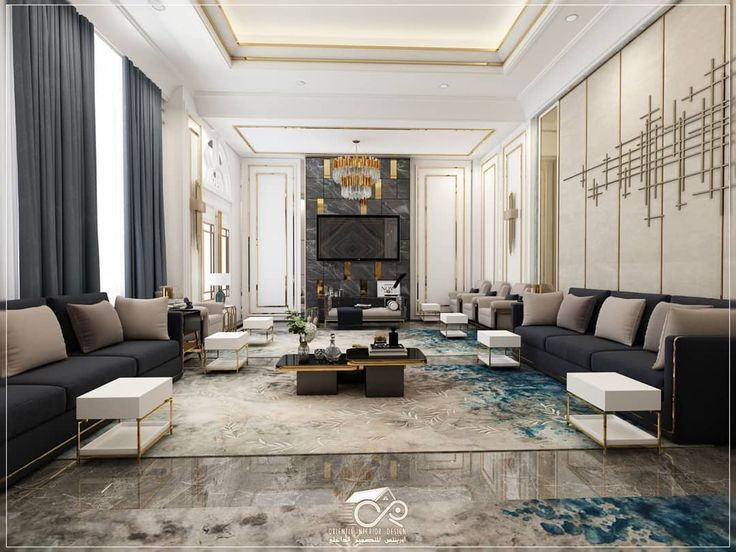 Designed And Implemented By Neoclassical Lounge تصميم وتنفيذ صالة جلوس نيو كلاسيك فخمة Luxury Living Room Neoclassical Interior Luxury Living Room Design