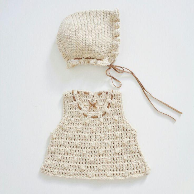 #Conjunto #reciénnacido #newborn #ganchillo #crochet #algodon #cotton