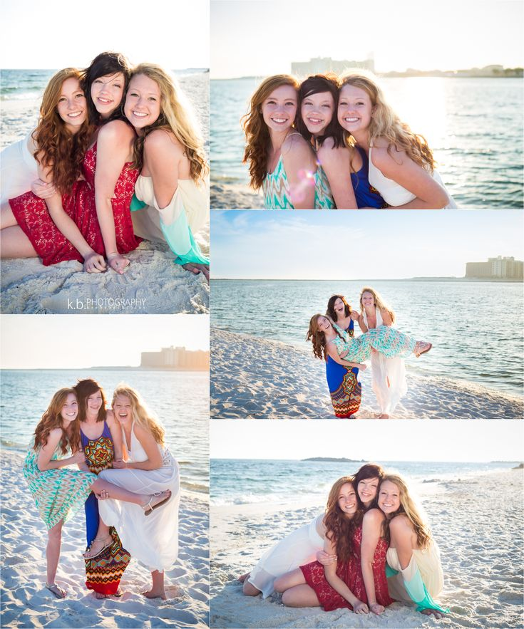 best friend beach photo shoot | orange beach, alabama photography