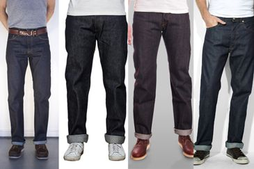 Raw Denim For Body Builders - The Sequel