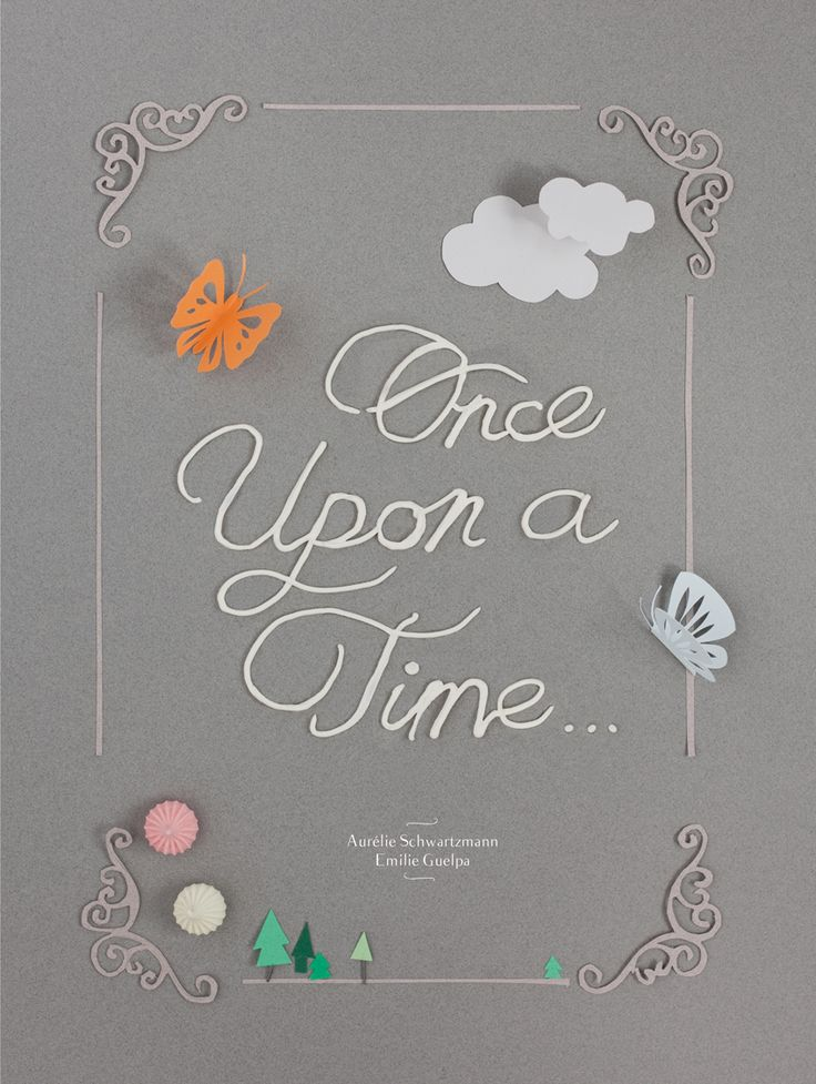Once upon a time /  pointropenfaut & griottes