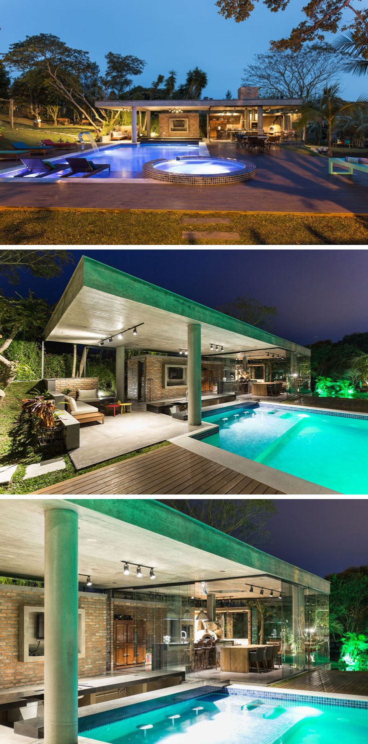 Best 25+ Modern pool house ideas on Pinterest | Modern pools, Prefab pool  house and D20 modern