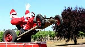 On your way to Mount Gambier, you might see #Santa at one of the Wineries, (picking up Christmas Presents naturally) in this case Redmans in the #Coonawarra