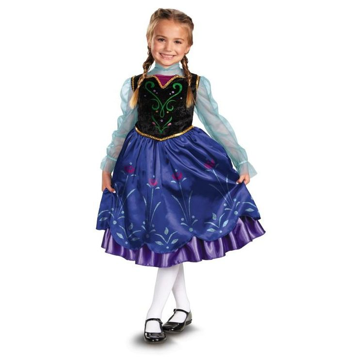Girl's Frozen Anna Deluxe Costume: every purchase through this link supports charity