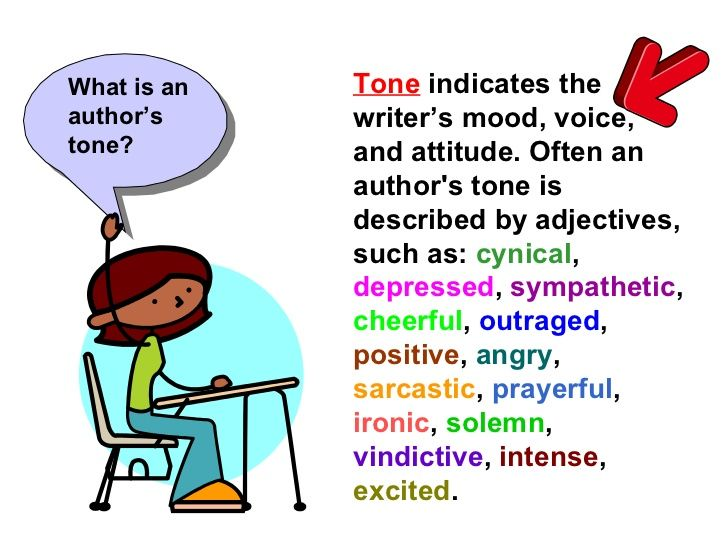 writing articles in english examples of tone