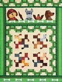 Let Sleeping Dogs Lie Quilt Kit on shopquiltmaker.comSleep Dogs, Adorable Dogs, Quilt Ideas, Dogs Quilt, Quilt Kits, Dogs Lying, Small Quilt, Lying Quilt, Kids Quilt