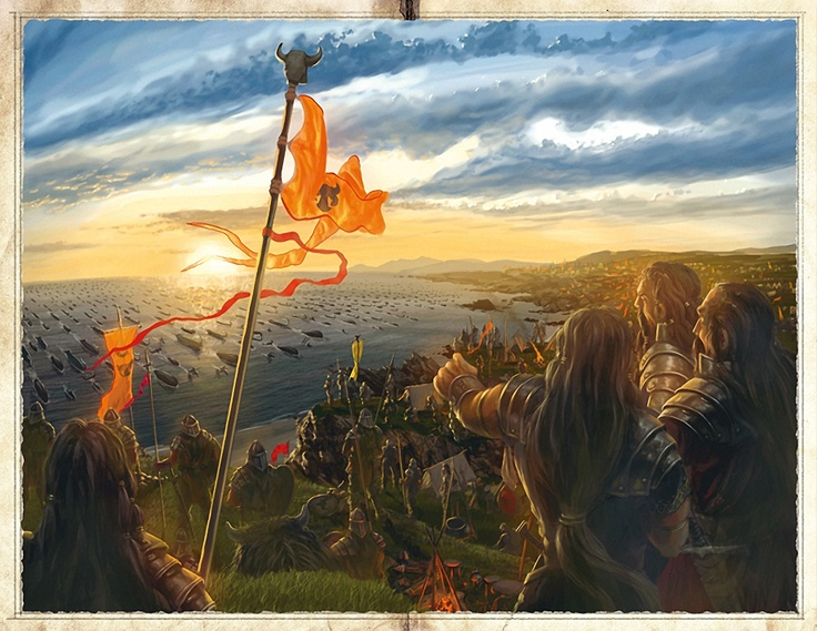 Ossidea: Artwork from The War of the Giants