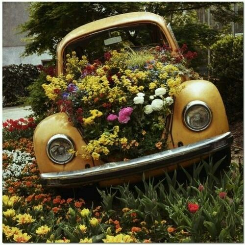 13 Best HiPPie*PEACE MOBILZ Images On Pinterest | Vw Beetles, Vw Bugs And  Garden Art