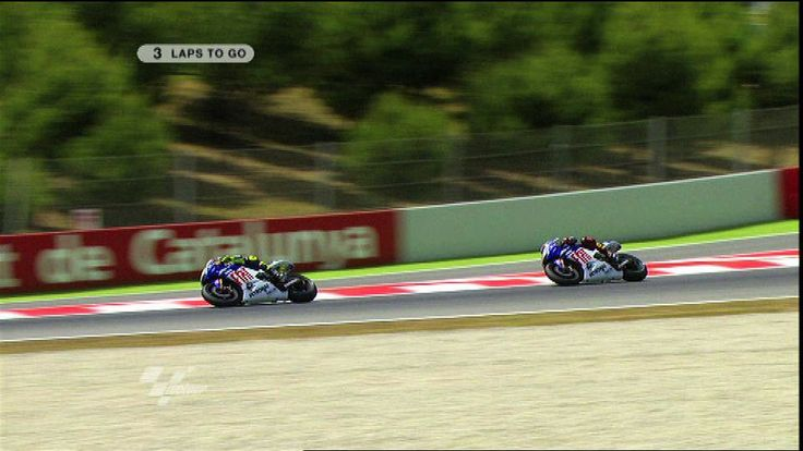 Catalunya 2009 Motogp 'Rossi teaches Lorenzo a lesson!'