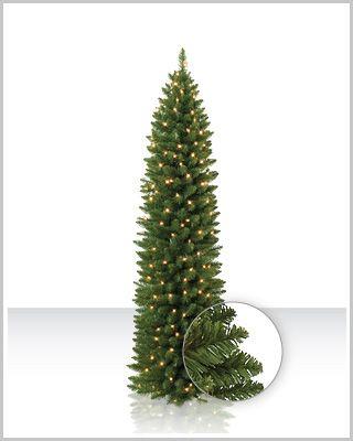 Slim Cashmere Christmas Tree