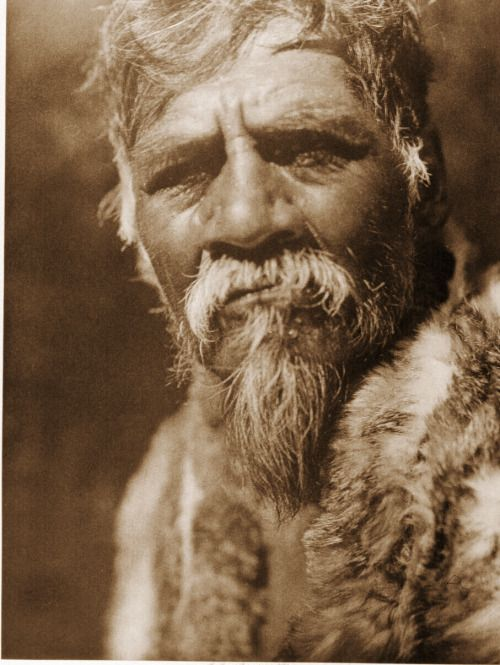 """Your daily photo from Edward Curtis' The North American Indian! Port. 14, Pl. 473- Old """"Ukiah"""" - Pomo The Pomo formerly occupied about half the area of Mendocino, Sonoma, and Lake counties, besides a small isolated territory in Glenn and Colusa. The..."""