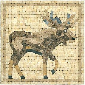 Travertine Moose Inserto 12 X 12 In Thetileshop Tile
