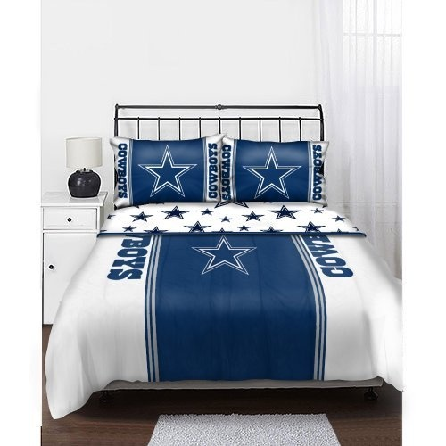 NFL Dallas Cowboys Full Bedding Set by Northwest  http   www amazon. 9 best Dallas Cowboys Game Room images on Pinterest