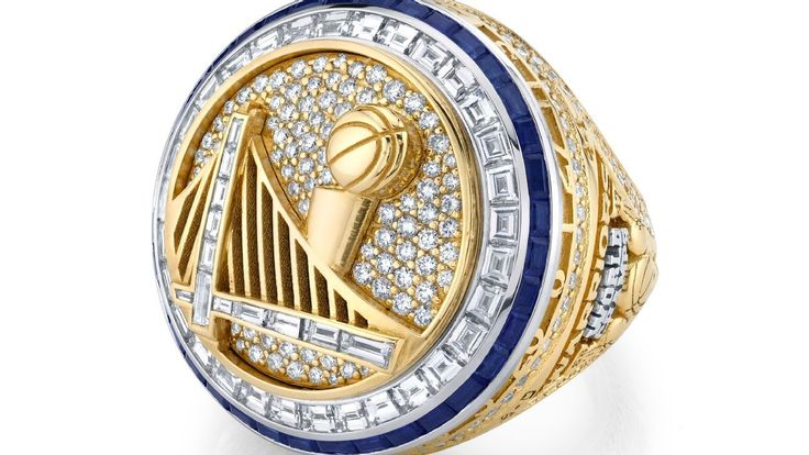 Warriors set record with 11carat championship rings