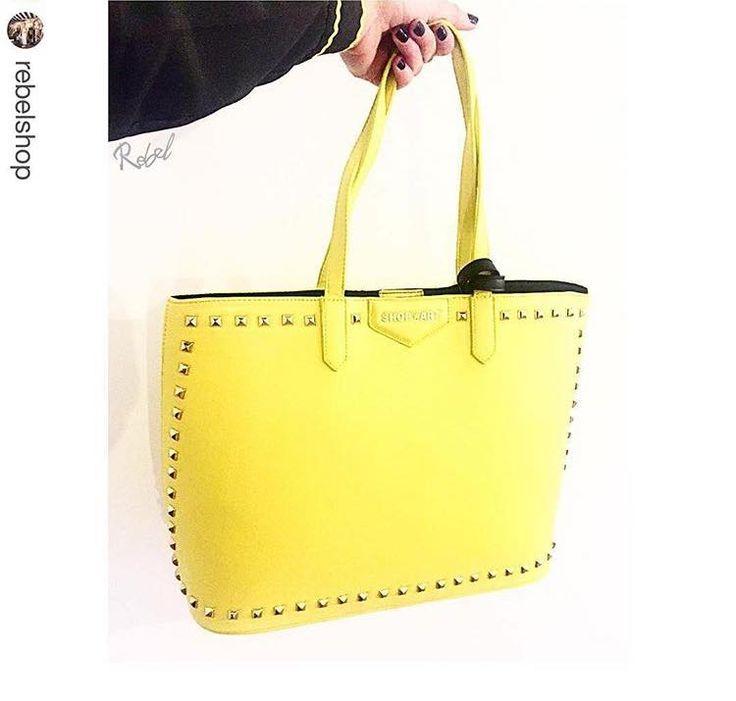 BAG SHOP ART #new #collection #shopart #shopartmania #springsummer16 #adorage #style #bag #yellow #cool #rebelshop #shopartstyle