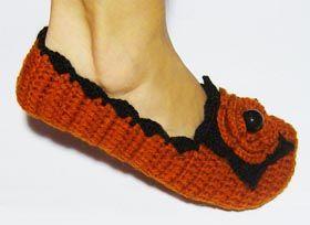 Уютные массажные тапочки для дома - вязание, крючком, вязаные, тапочки