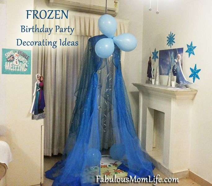 Paper Cut Out Blue Balloons First Birthday Decoration: 1000+ Images About Frozen Birthday Party Ideas On Pinterest