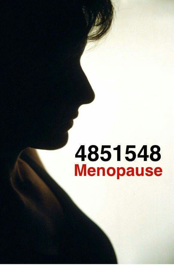 For menopause