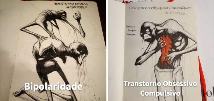 Uma série de desenhos inquietantes e que nos atentam aos problemas vividos por centenas de pessoas pelo mundo.