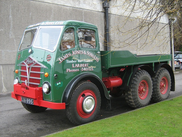 FODEN STG Timber winch - James Jones & Sons